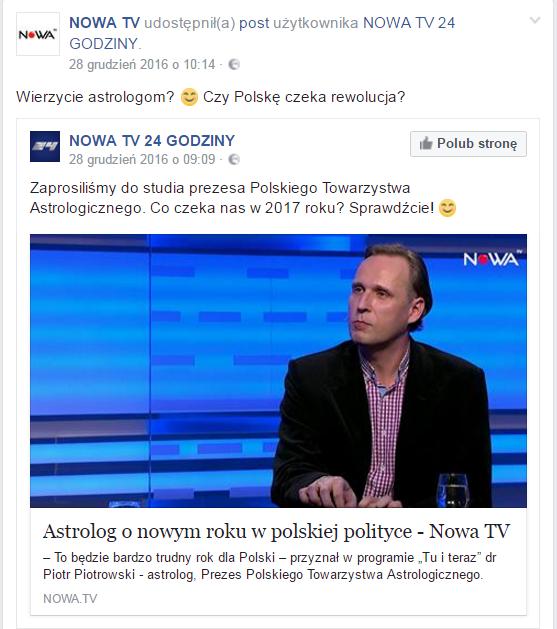 Wywiad dla Nowa TV
